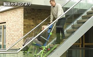 非常用階段避難車(エクセルチェア)